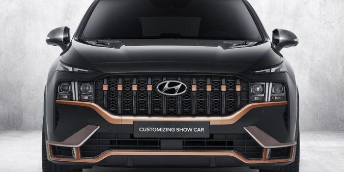 Hyundai Santa Fe обзавелся фирменным тюнингом N Performance